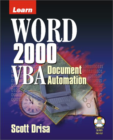 9781556227516: Learn Word 2000 Vba Document Automation