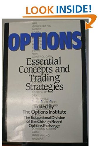 9781556231025: Options: Essential Concepts and Trading