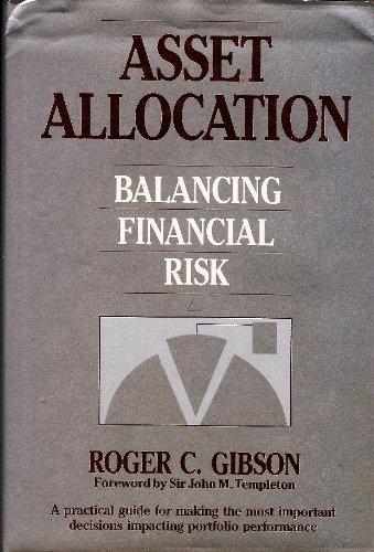 9781556231643: Asset Allocation: Balancing Financial Risk