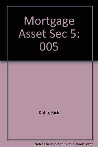 9781556232527: Mortgage Asset Sec 5 (The Library of investment banking)