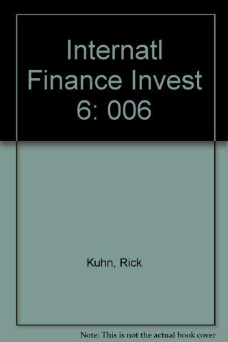 9781556232534: International Finance and Investing (The Library of investment banking)