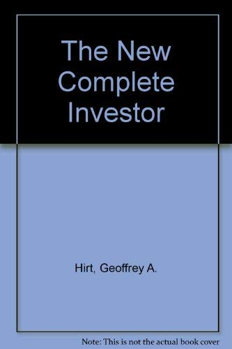 9781556233678: The New Complete Investor