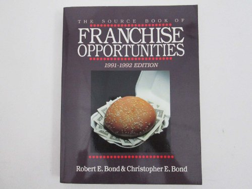 9781556235290: Source Book of Franchise Opportunities 1991-92