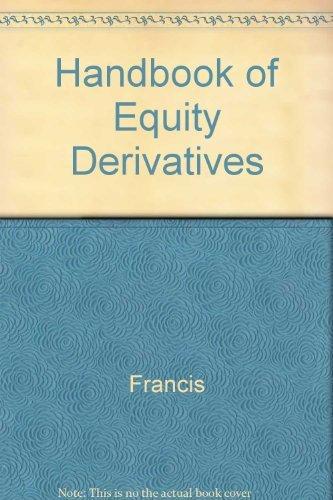 9781556235948: The Handbook of Equity Derivatives