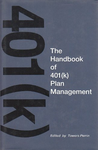 9781556236204: The Handbook of 401 (K Plan Management)