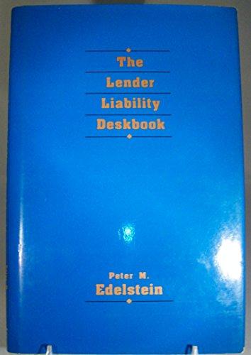 9781556238185: The Lender Liability Deskbook
