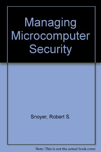 9781556238758: Managing Microcomputer Security