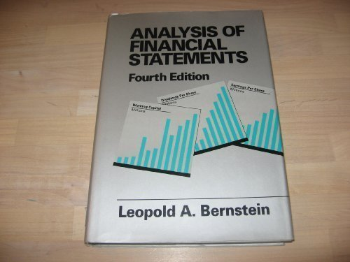 9781556239304: Analysis of Financial Statements