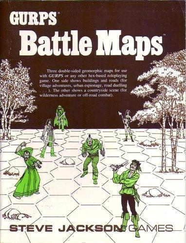 9781556340697: GURPS Battle Maps (GURPS, SJG00595)