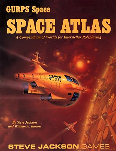 9781556341083: Gurps Space Atlas: A Compendium of World for Interstellar Roleplaying by Stev...