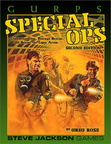 Gurps Special Ops Counter-Terrorism, Hostage rescue and Behind-The-lines Action