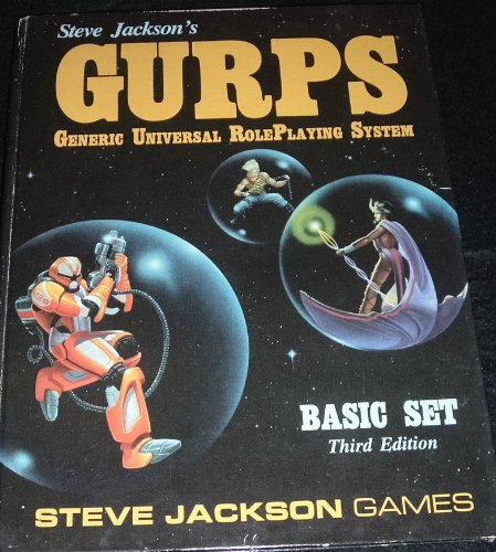 9781556341595: Steve Jackson's GURPS, Basic Set Third Edition (Generic Universal RolePlaying System)