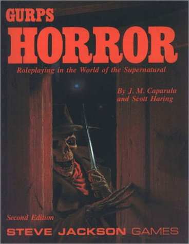 9781556341793: Gurp's Horror: The Complete Guide to Horrific Roleplaying