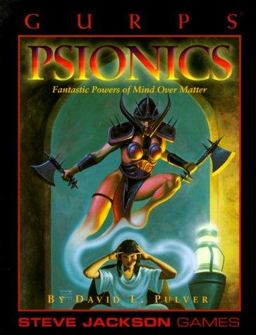 GURPS Psionics reprint (GURPS: Generic Universal Role: Pulver, David