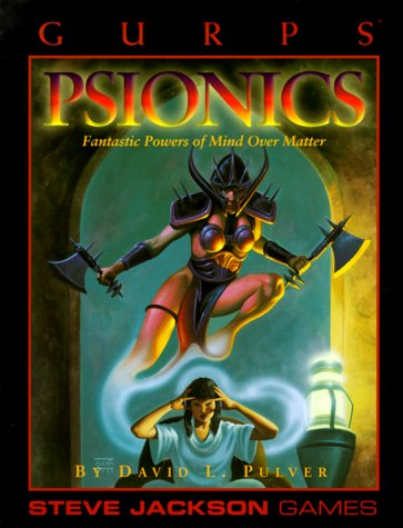 9781556341960: GURPS Psionics reprint (GURPS: Generic Universal Role Playing System)