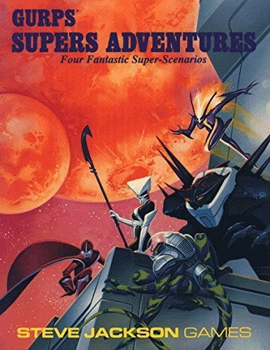 Gurps Fantasy Adventures : Four Fiendish Quests for Fantasy Roleplaying