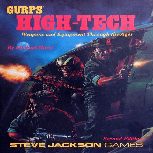 9781556342059: Gurps High Tech: Weapons and Equipment Through the Ages