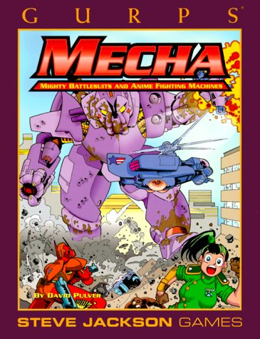 GURPS Mecha (GURPS: Generic Universal Role Playing System) (155634239X) by Pulver, David