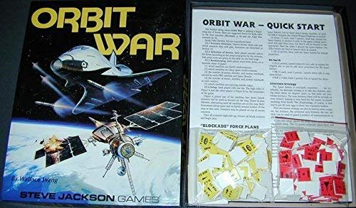 Orbit War (Boxed Game) (1556342527) by Wallace Wang; Steve Jackson