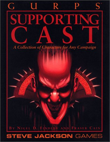 9781556342677: Gurps Supporting Cast: A Collection of Characters for Any Campaign