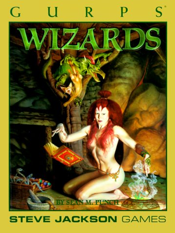 9781556342707: GURPS Wizards *OSI (GURPS: Generic Universal Role Playing System)