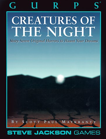 9781556342738: Gurps: Creatures of the Night