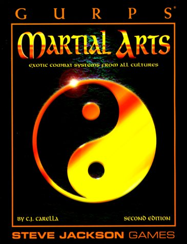 9781556343148: GURPS: Martial Arts (GURPS: Generic Universal Role Playing System)