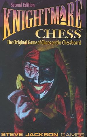 9781556343193: Knightmare Chess: The Original Game of Chaos on the Chessboard : Cards
