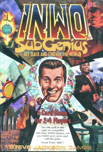 9781556343384: Inwo Subgenius: A Card Game for 2-4 Players