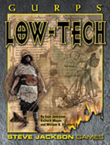 9781556343438: GURPS Low-Tech (Steve Jackson Games)