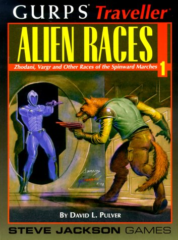 GURPS Traveller Alien Races 1 (No. 1) (1556343612) by David Pulver