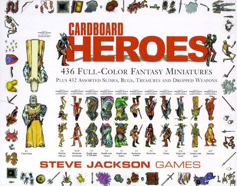 9781556343704: Cardboard Heroes *OP