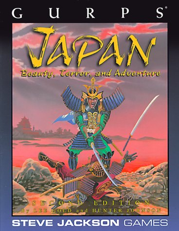 9781556343889: GURPS Japan: Beauty, Terror, and Adventure, 3rd Edition (GURPS: Generic Universal Role Playing System)