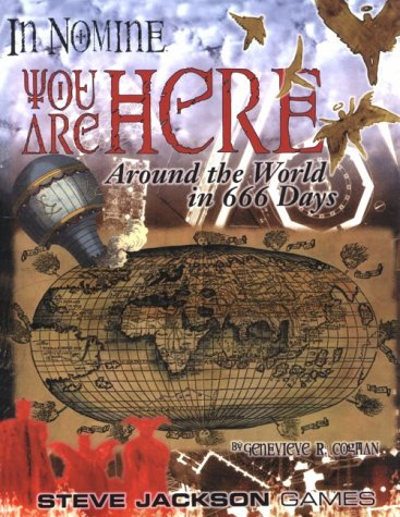 In Nomine You Are Here: Genevieve Cogman