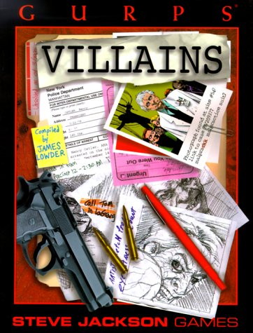 9781556344145: GURPS Villains (GURPS: Generic Universal Role Playing System)