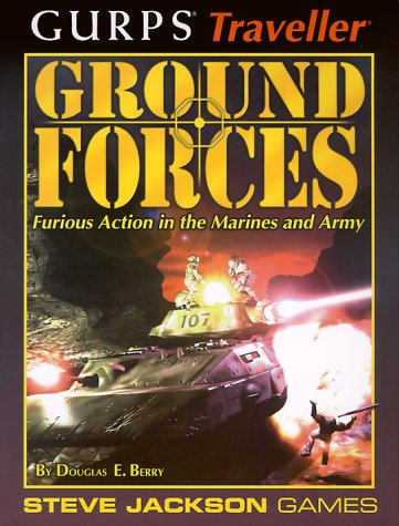9781556344442: GURPS Traveller Ground Forces