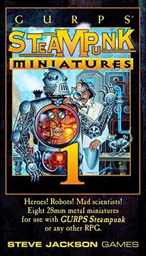 9781556345234: Gurps Steampunk Miniatures Set 1