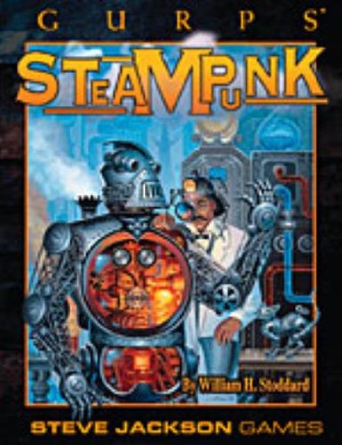 9781556346057: GURPS Steampunk Role Play Game Book