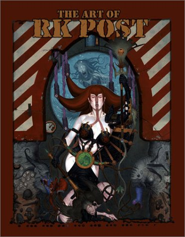 POSTMORTEM: THE ART OF RK POST. lst printing.
