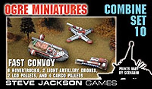 9781556346286: Ogre Miniatures Combine Set 10  Fast Convoy