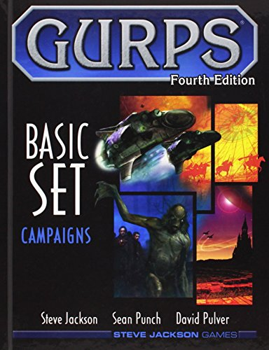 GURPS BASIC SET Campaigns (GURPS: Generic Universal Role Playing System): Jackson, Steve; Pulver, ...