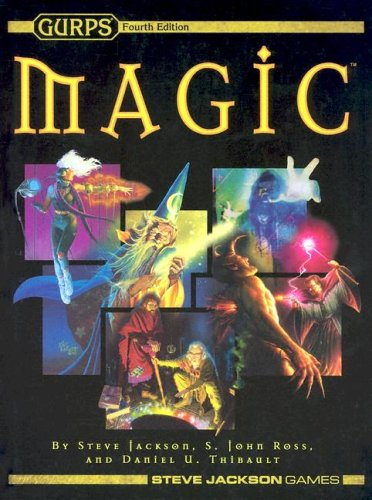 GURPS Magic 4th Ed (1556347332) by Jackson, Steve