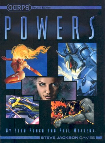 Gurps Powers, Fourth Edition (1556347421) by Phil Masters; Sean Punch