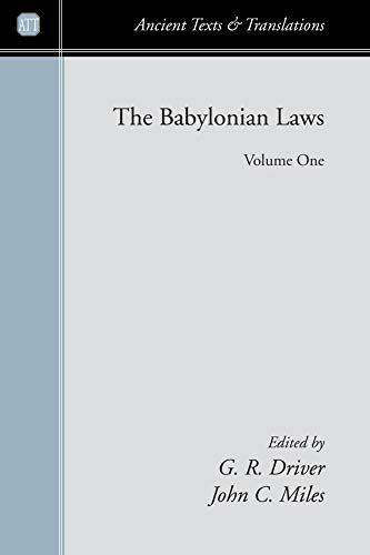 9781556352294: The Babylonian Laws