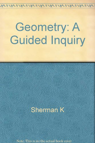9781556367533: Geometry: A Guided Inquiry