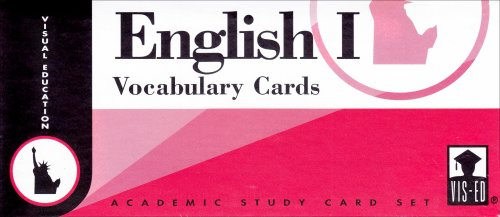 9781556370014: English I Vocabulary Cards (Set 1)