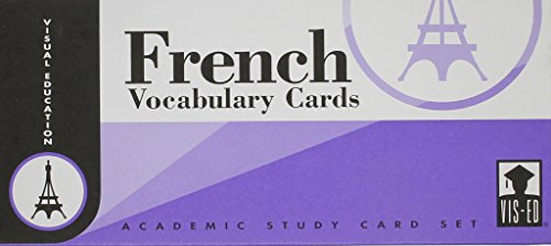 9781556370052: French Vocabulary Cards: Academic Study Card Set