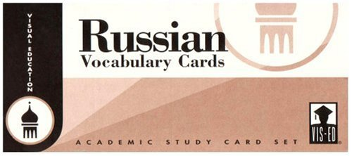 9781556370120: Russian Vocabulary Cards: Academic Study Card Set