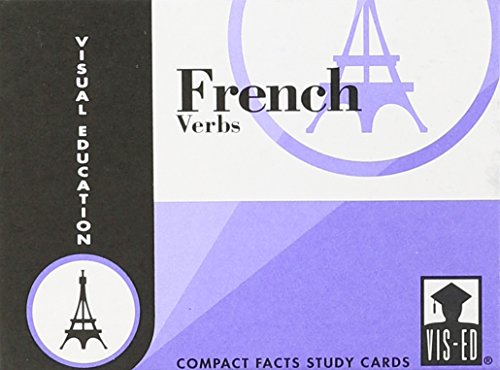 9781556370366: French Verbs: Compact Facts Study Cards