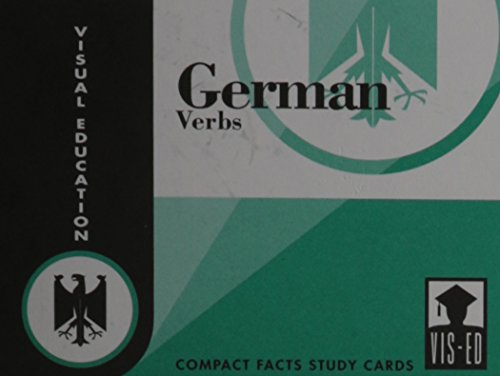 9781556370397: German Verbs Cards: Compact Facts